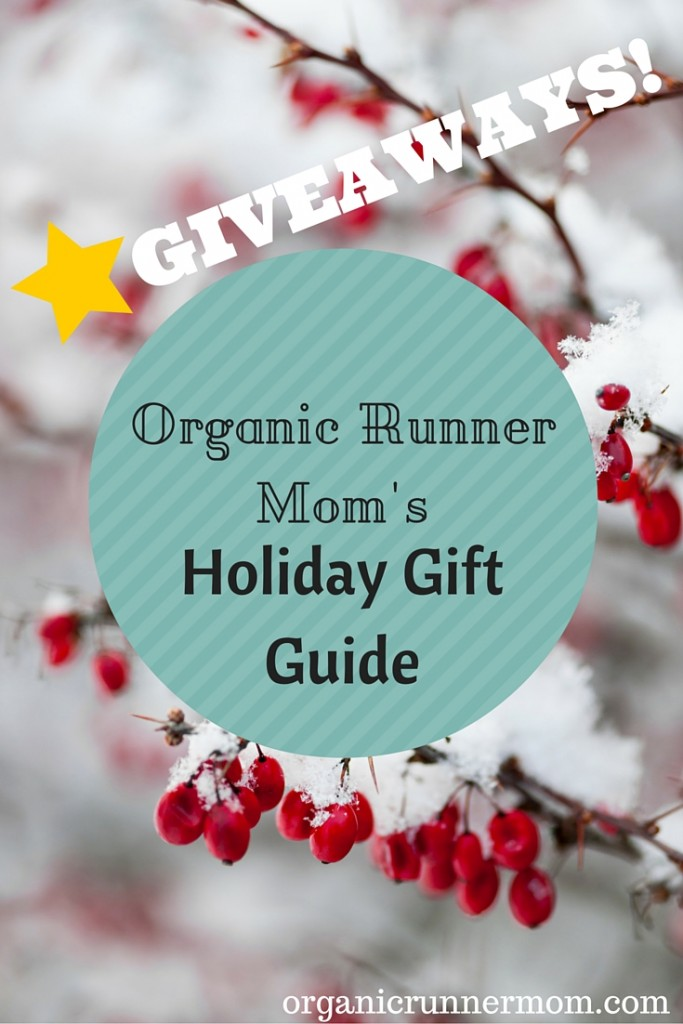 Organic Runner Mom's Holiday Gift Guide Giveaways