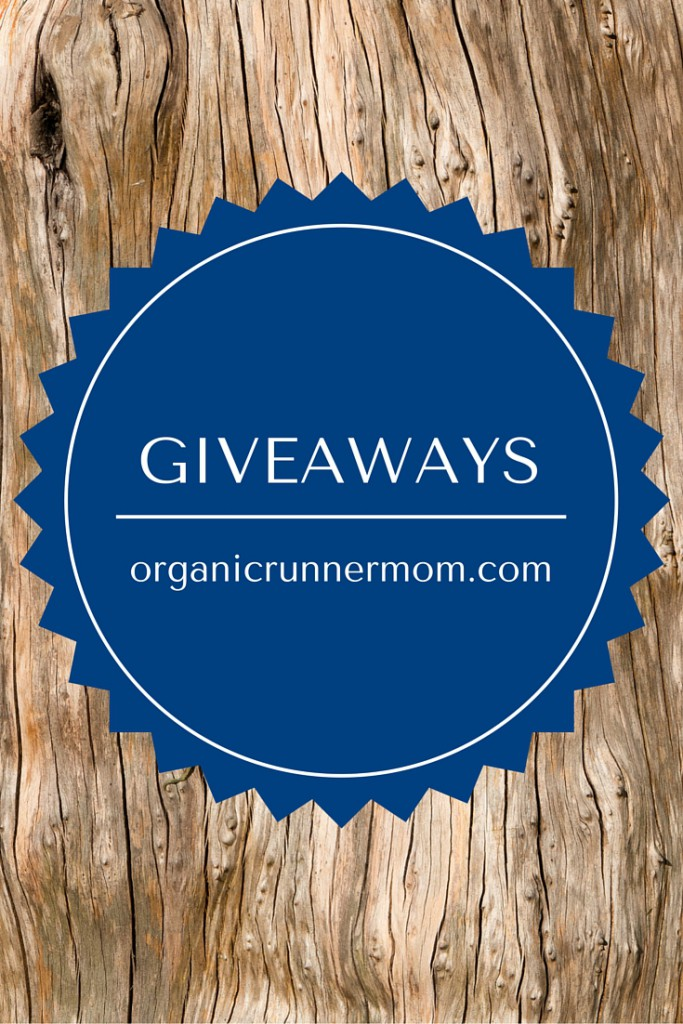 Giveaways on Organic Runner Mom