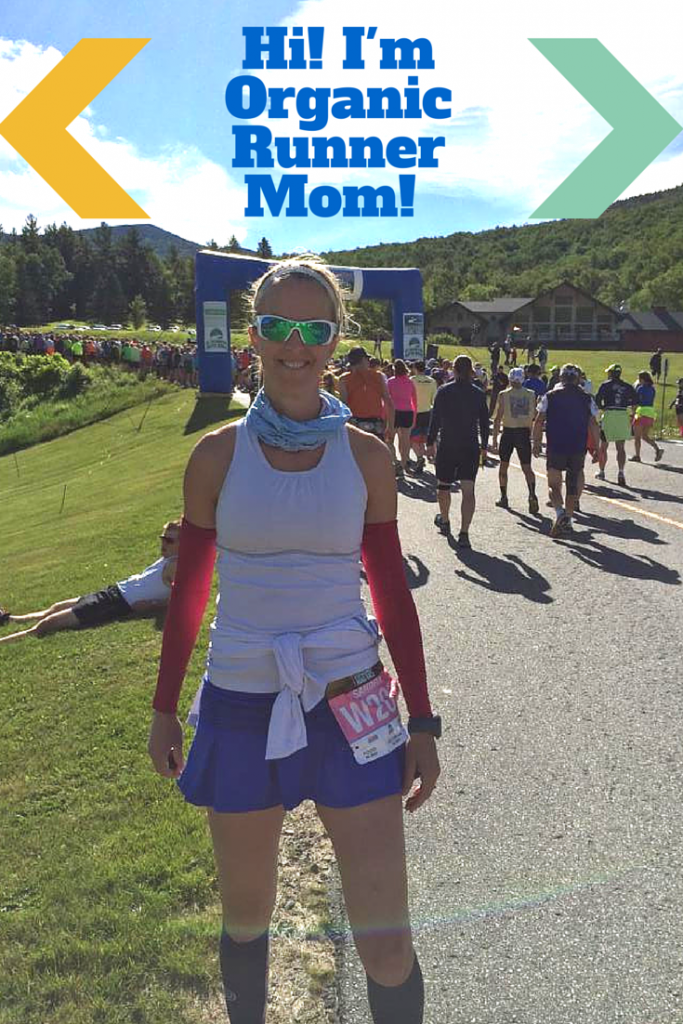 Hi! I'm Organic Runner Mom!