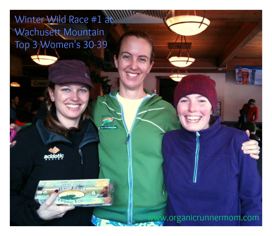 Fast Mountain Running Chicks-Top 3 in age group 30-39
