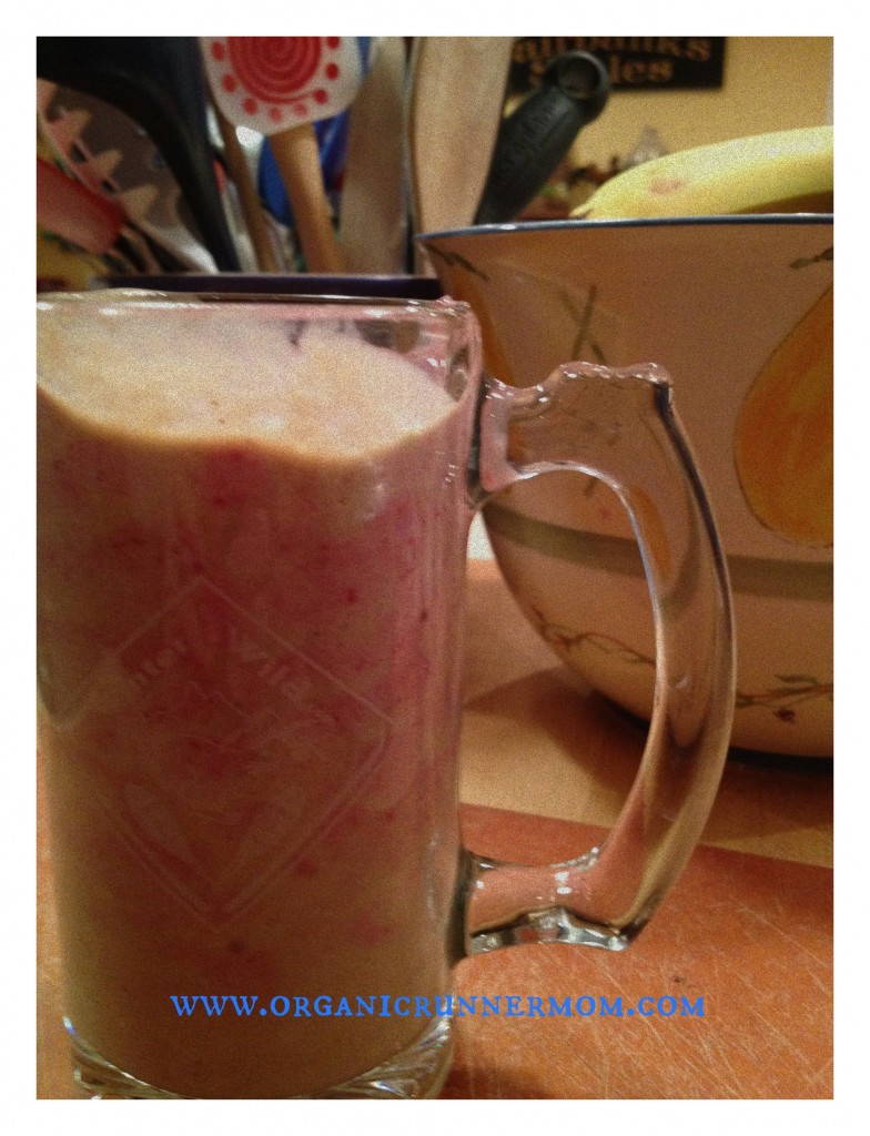 Ice Cream? Nope! It's an avocado smoothie! (Check out the cool Winter Wild Mug!)