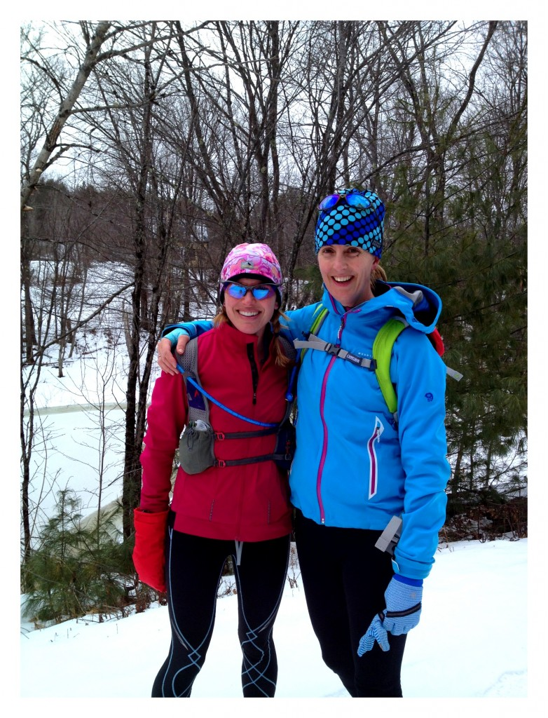 """Finally a run with """"Dangergirl!"""" Kristina is a super fast ultrarunner with amazing goals. Running with her was an inspiration!"""