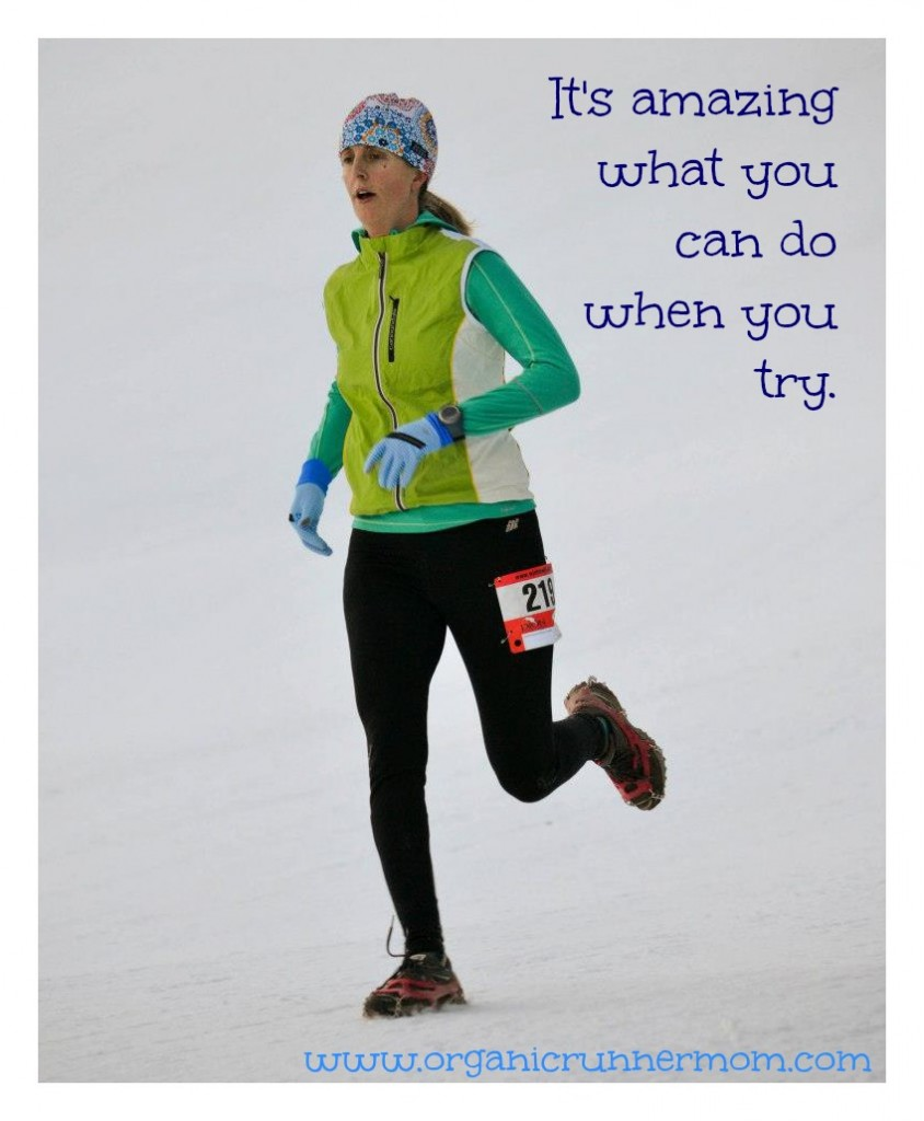 Find your comfort zone and then leave it! Motivation for runners