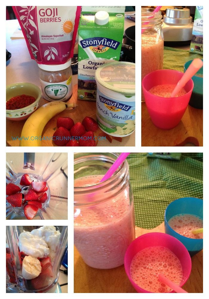 Fresh Friday Recipe: Goji Berry Strawberry Banana Super Smoothie