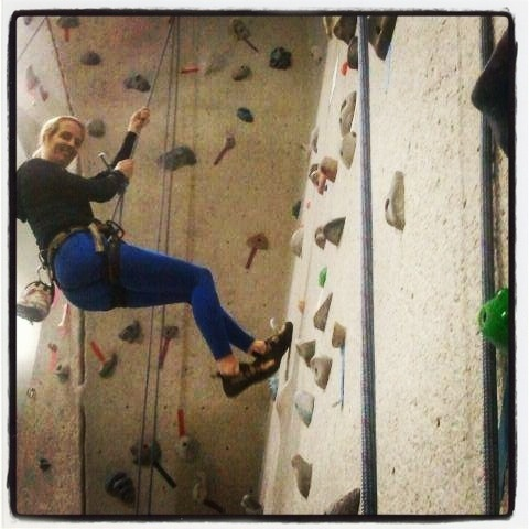 Climbing! I faced my fear and found new inner strength