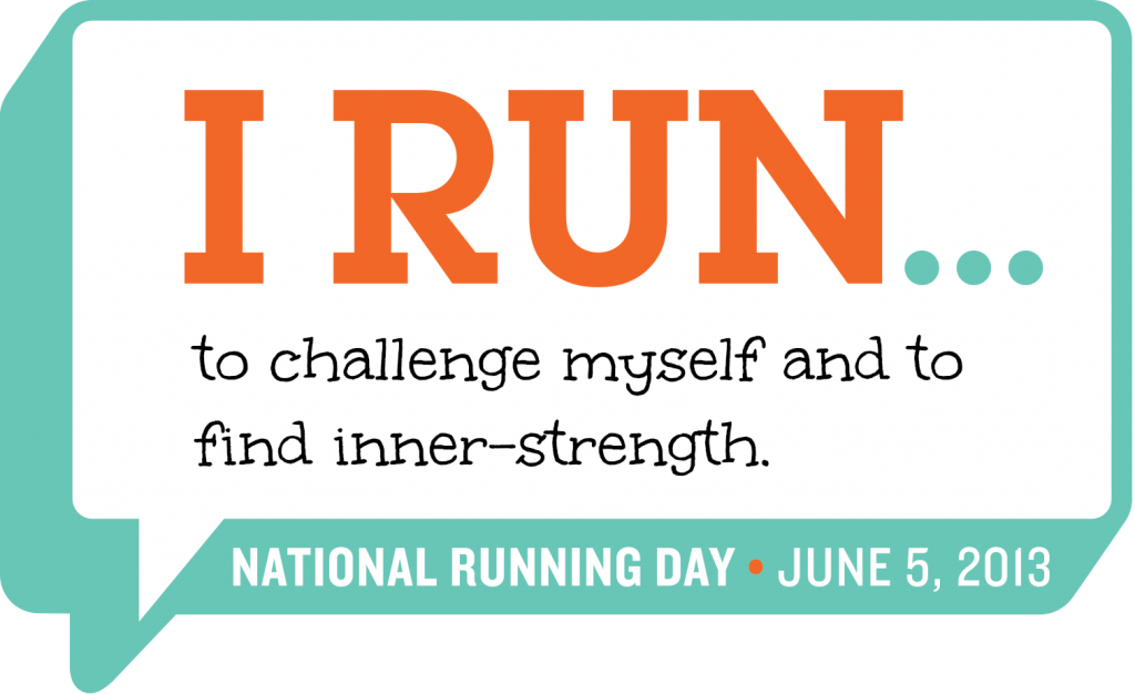 National Running Day is June 5th.