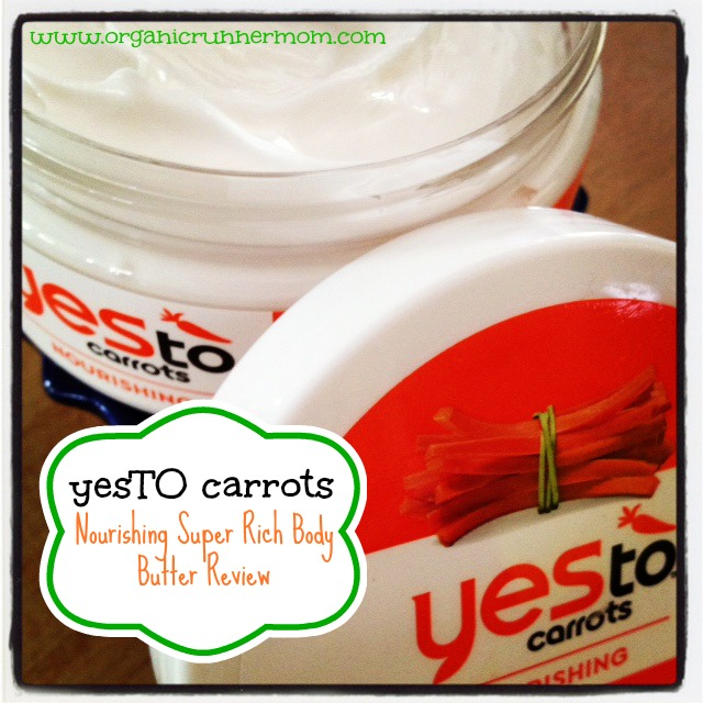 yes TO Carrots Nourishing Body Butter Review