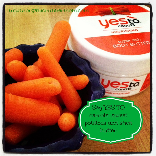 Say yesTO Carrots, Sweet Potatoes and Shea Butter