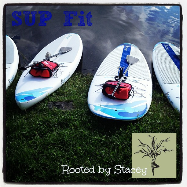 SUP Fit–Stand Up Paddle Boarding Fitness with Rooted By Stacey
