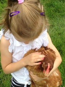 Chickens and Kids=My heart is full.