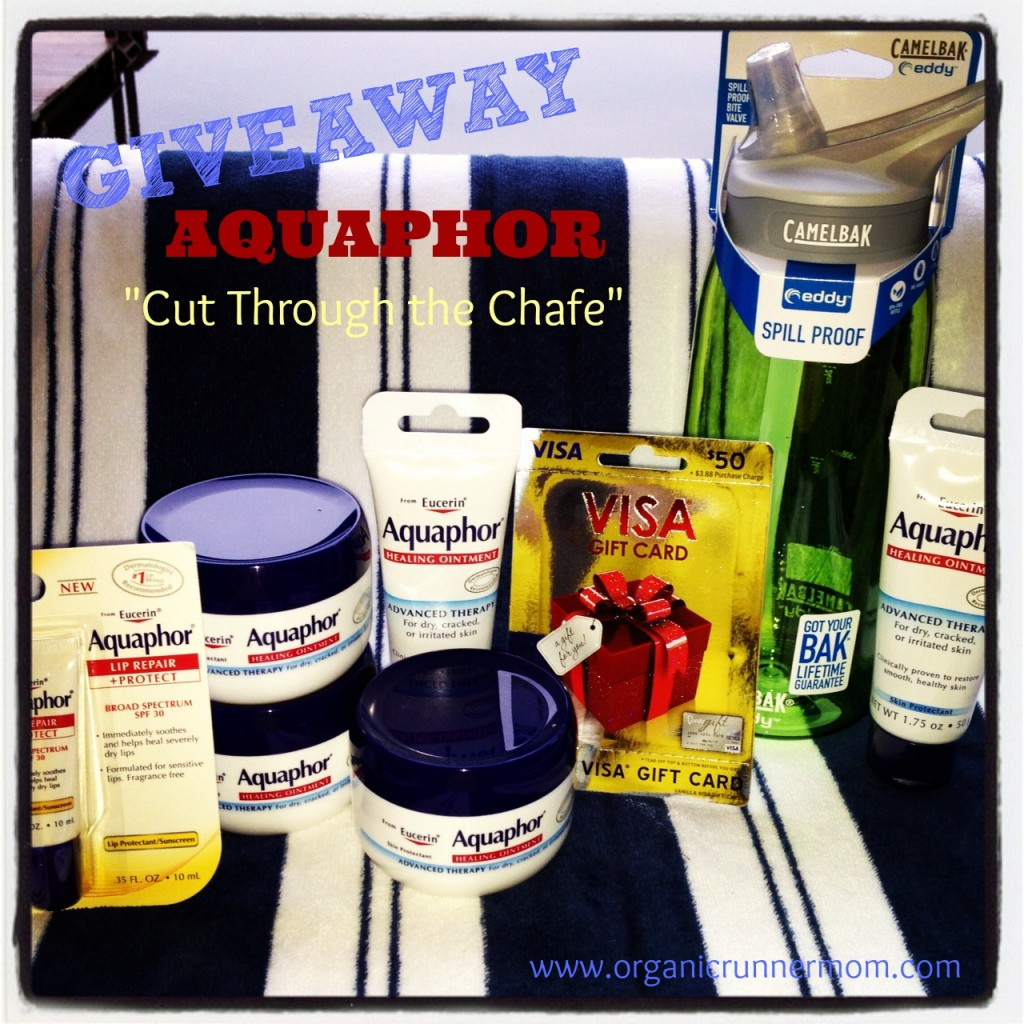 Aquaphor GIVEAWAY Cut Through the Chafe