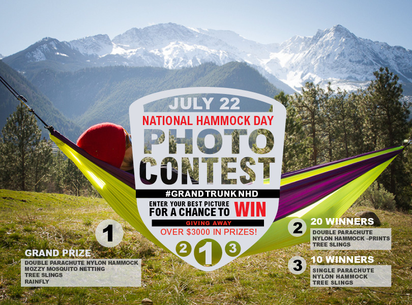 Grand Trunk Goods National Hammock Day Photo Contest