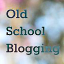 Old School Blogging