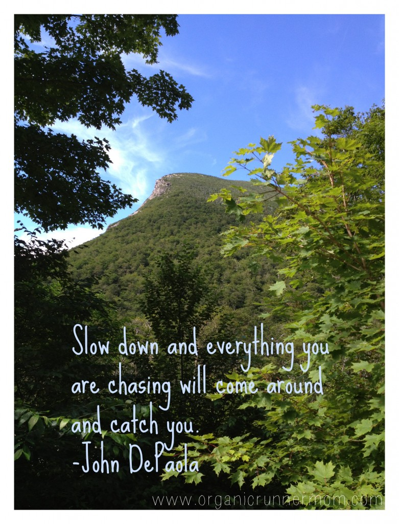 Slow Down-Inspirational Quote