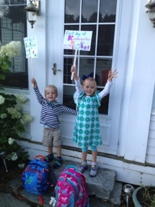 First day of Early Preschool and Kindergarten
