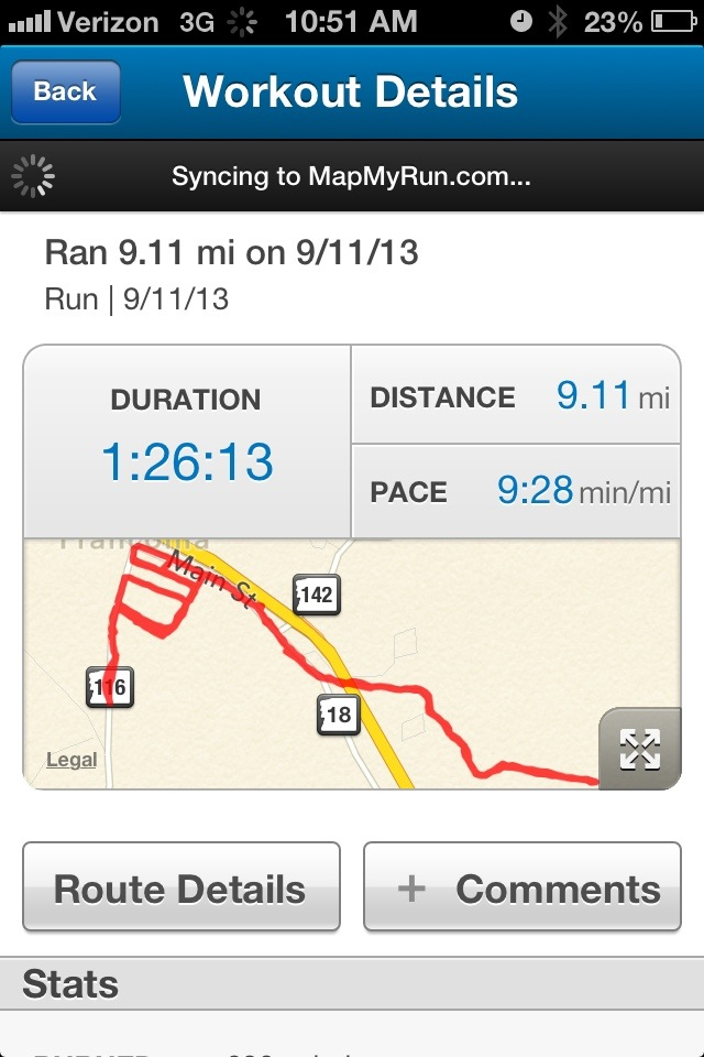 9.11 Miles on 9/11 #RuntoRemember