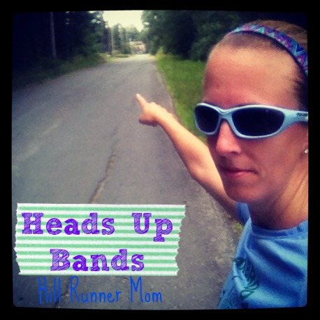 Rockin' some hill repeats in Heads Up Bands