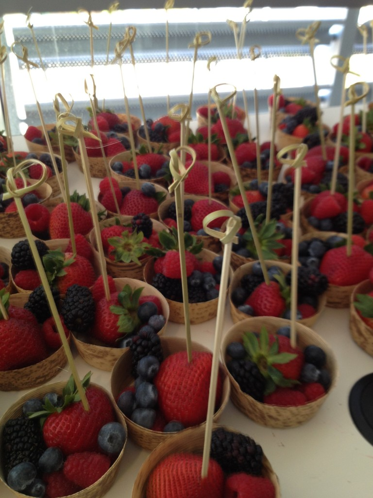 Last year I even won a years supply of berries from Driscoll's Berries at the Fitness & Health Social Media Conference!