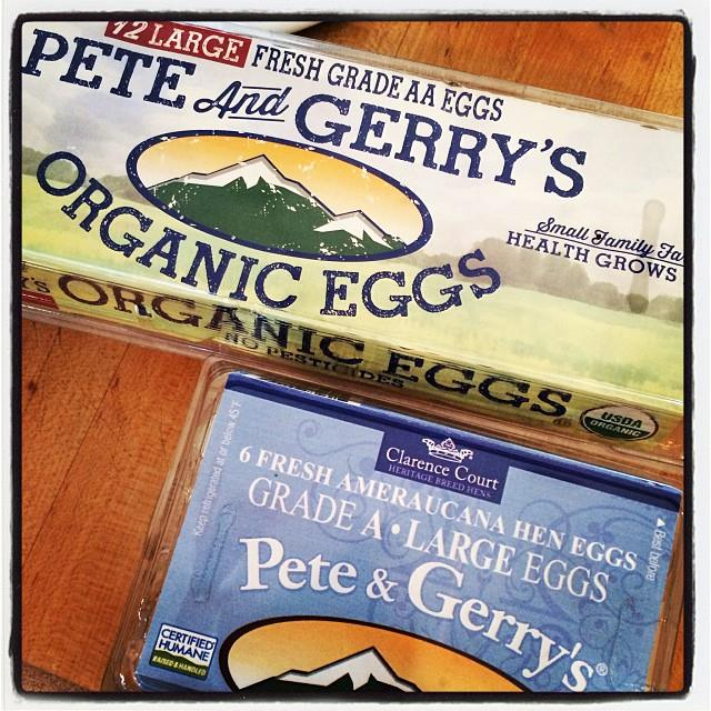 Pete and Gerry's Organic Eggs–Health Grows Here