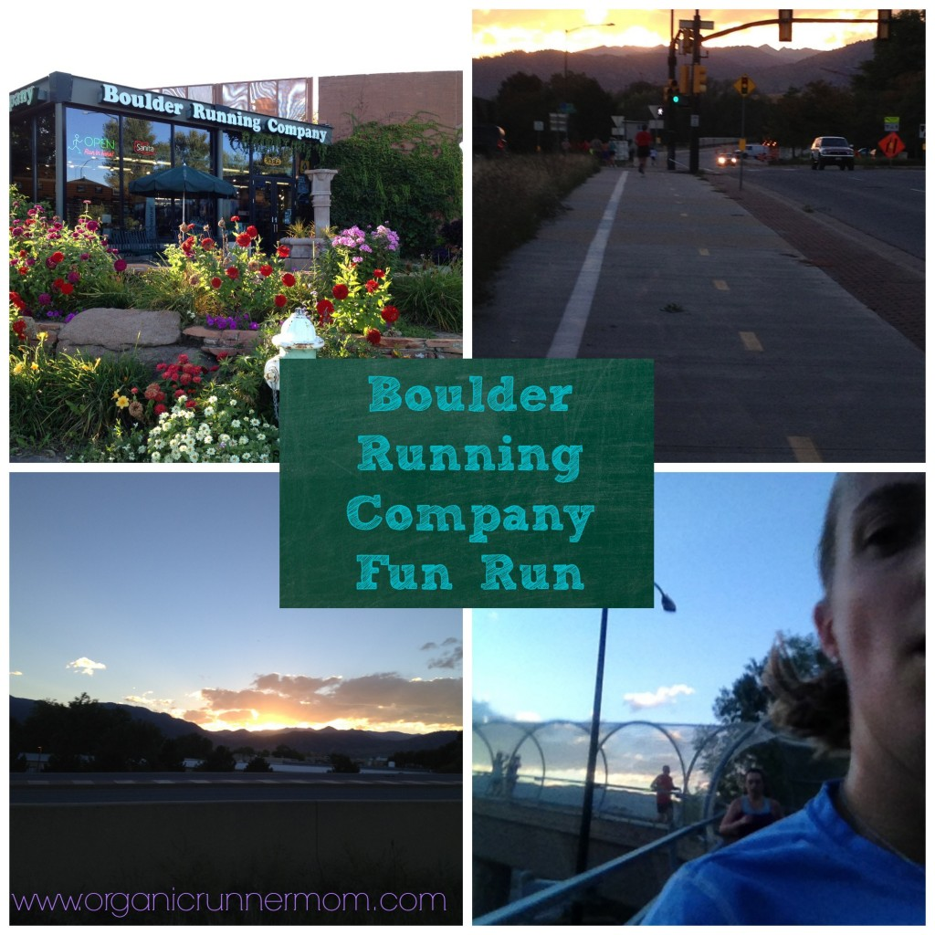 Boulder Running company Fun Run