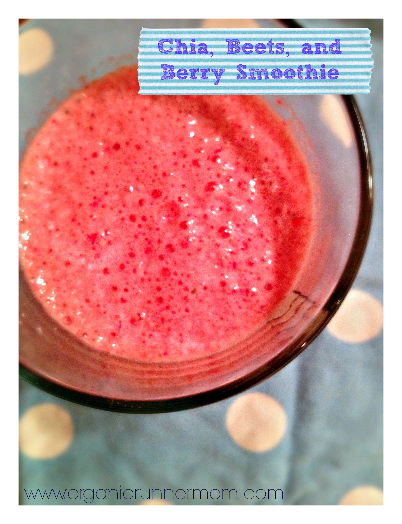 Fresh Recipe: Chia, Beets, and Berry Smoothie