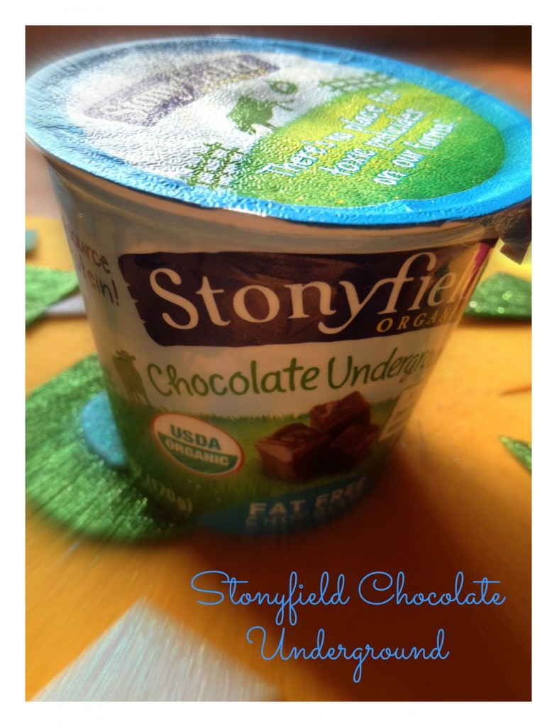 Secret Smoothie Ingredient: Stonyfield Organic Chocolate Underground Yogurt