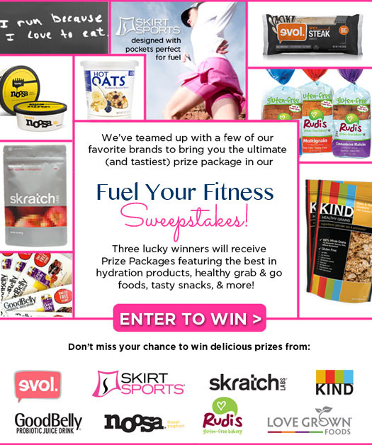 Skirt Sports Fuel Your Fitness Sweepstakes