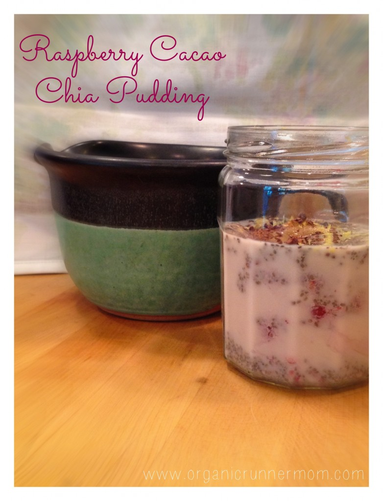 Fresh Recipe: Raspberry Cacao Chia Pudding