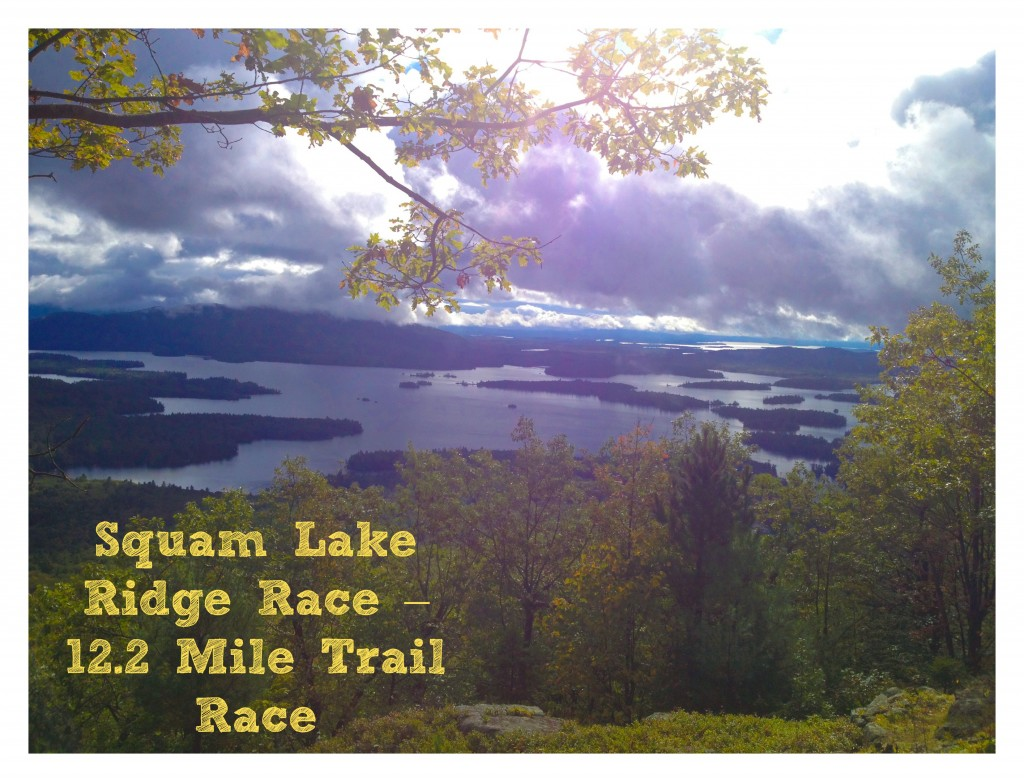 The View. Squam Lake Ridge Race.