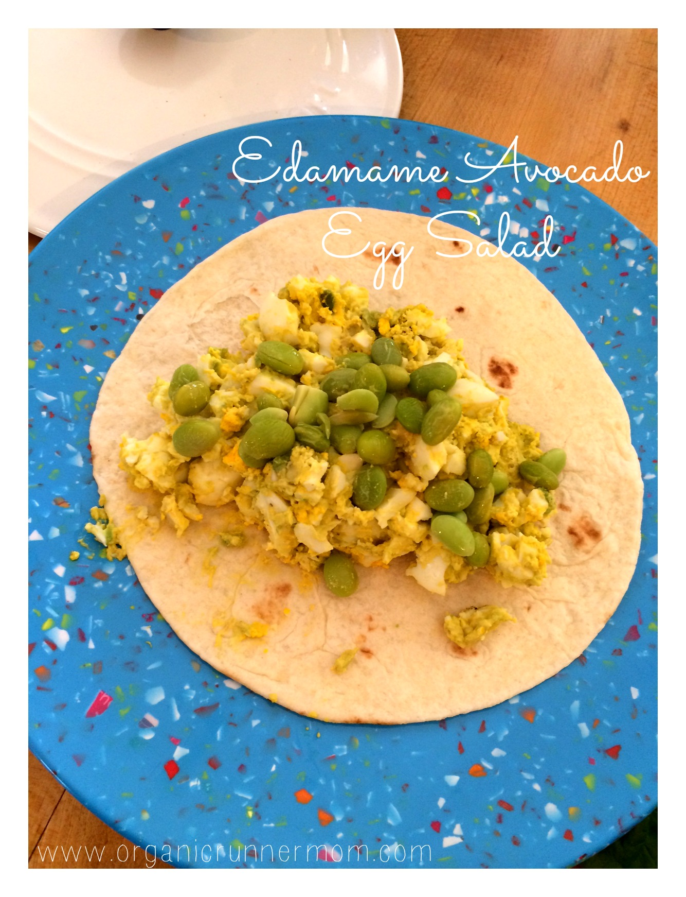 Fresh Recipe: Edamame Avocado Egg Salad