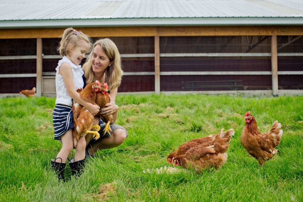 Me and my little chick at our family farm (Photo courtesy of Jess Anderson Photography)