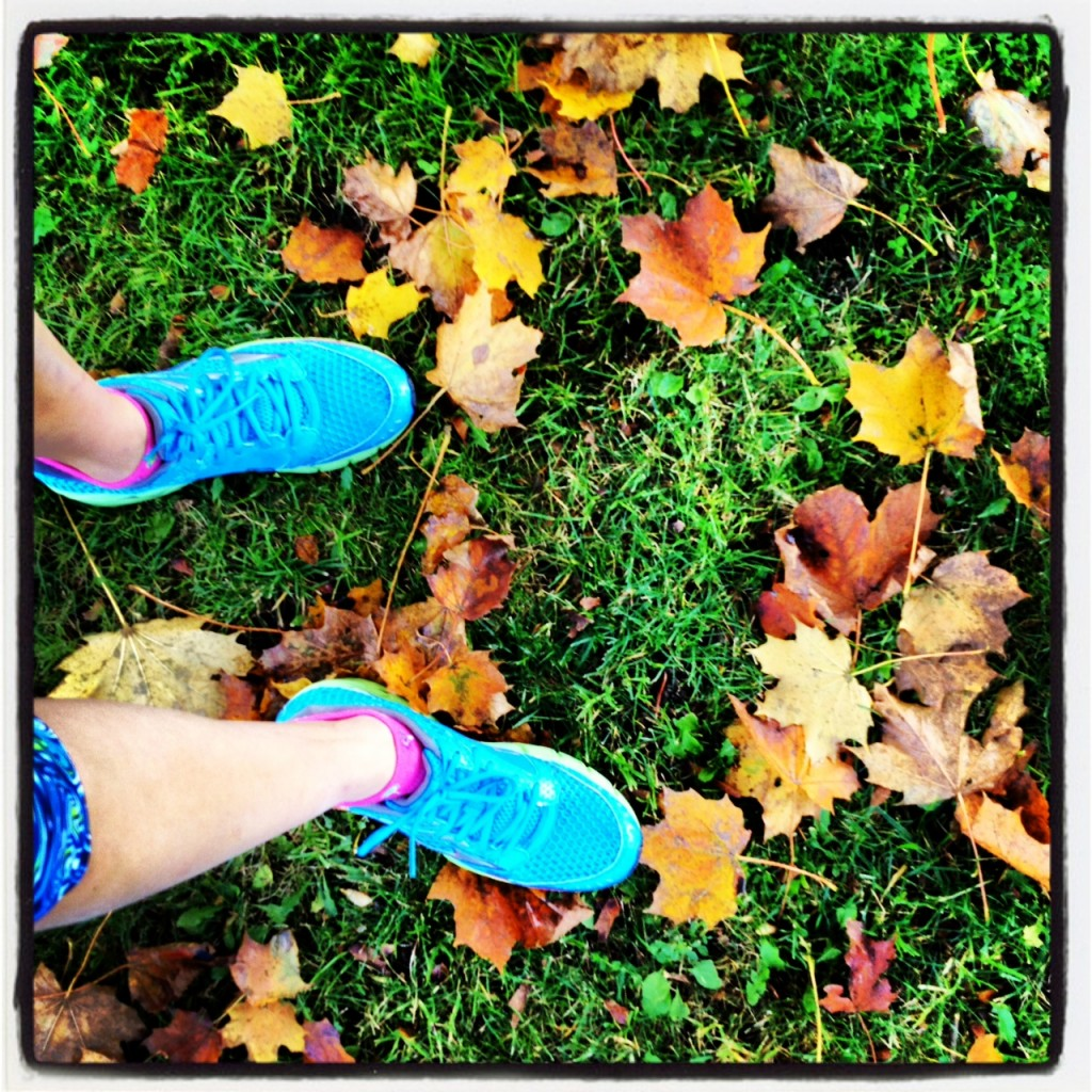 #BrilliantRun (Mizunos) on a gorgeous fall day in New Hampshire