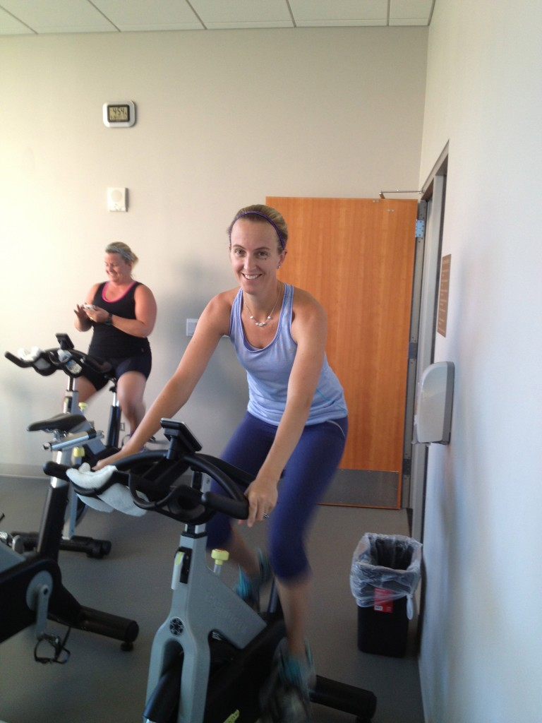 Spinning Geek at the Fitness and Halth Social Media Conference