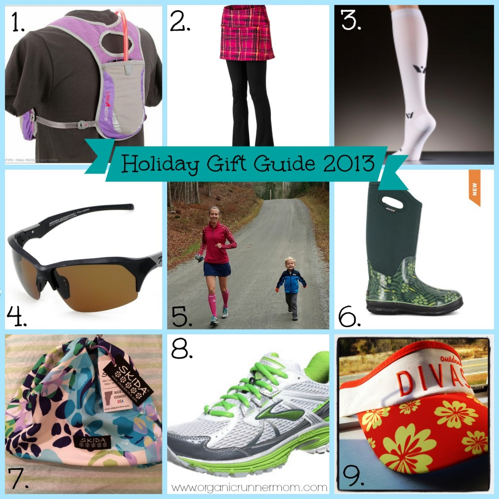 Organic Runner Mom's Holiday Gift Guide for Runners and Trail Runners 2013