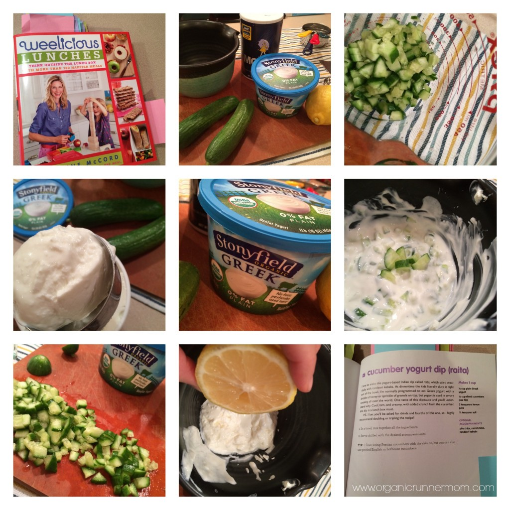 Cucumber Yogurt Dip from Weelicious Lunches