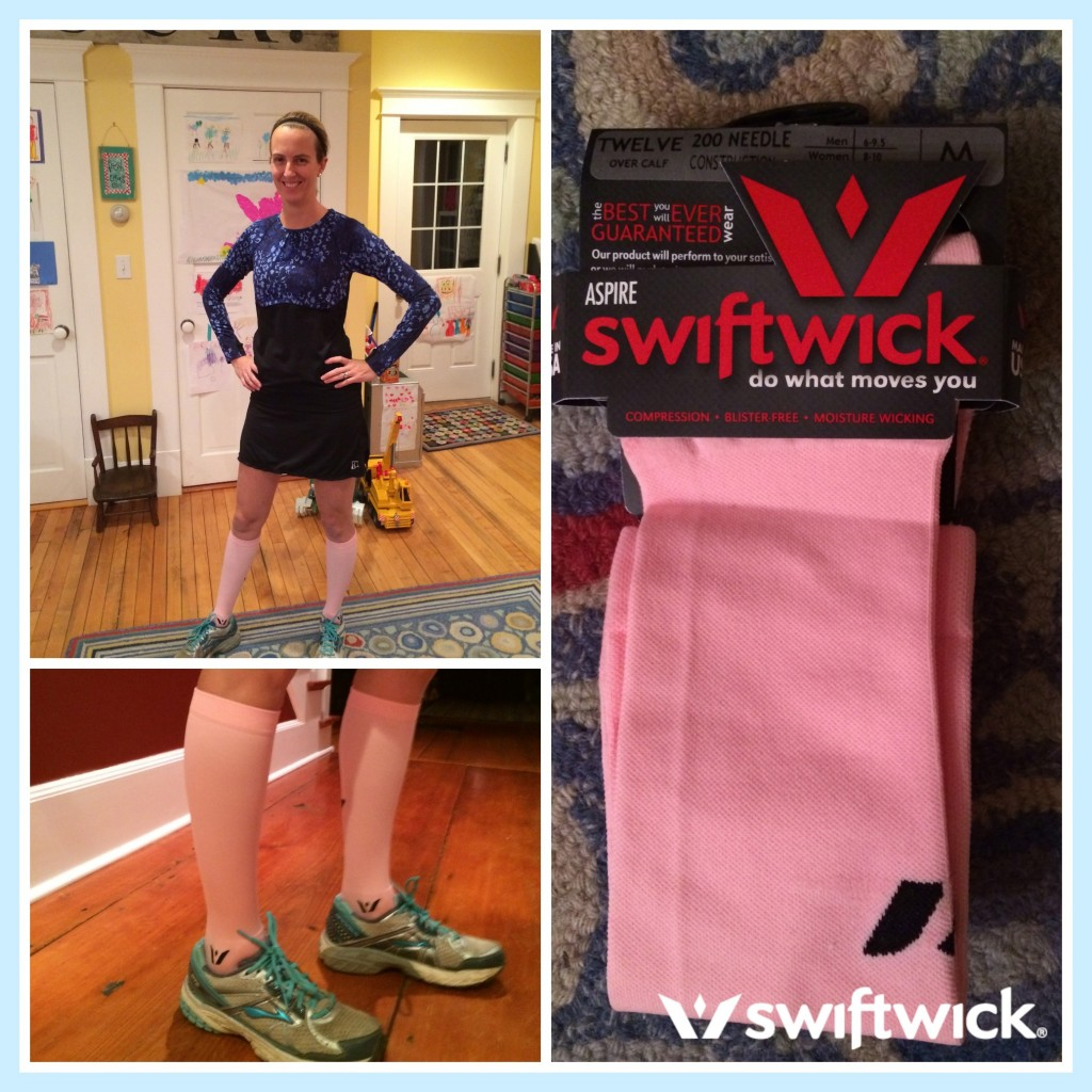 Swiftwick Aspire 12 Pink-Compression Socks