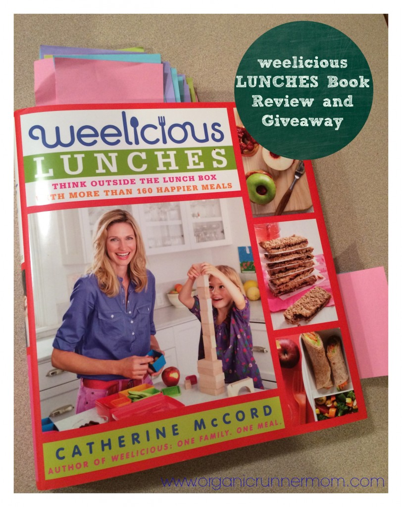 weelicious LUNCHES review and giveaway