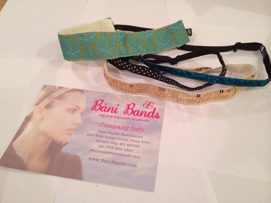 Bani Bands Soft Grip Adjustable Headband