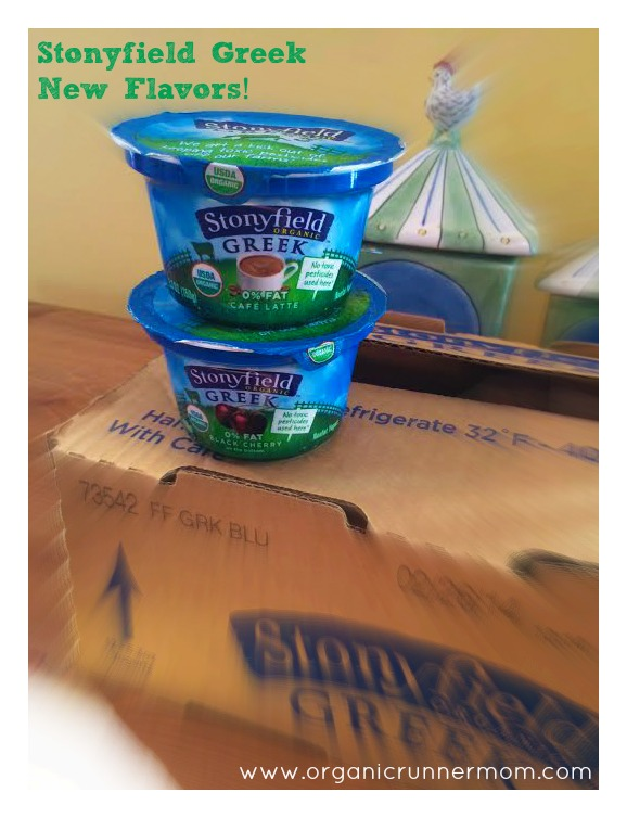 Stonyfield Greek's New Flavors: Cafe Latte and Black Cherry