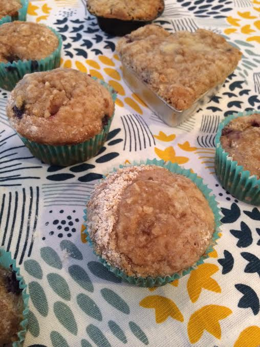 Fresh Recipe: Blackberry & Blueberry Muffins