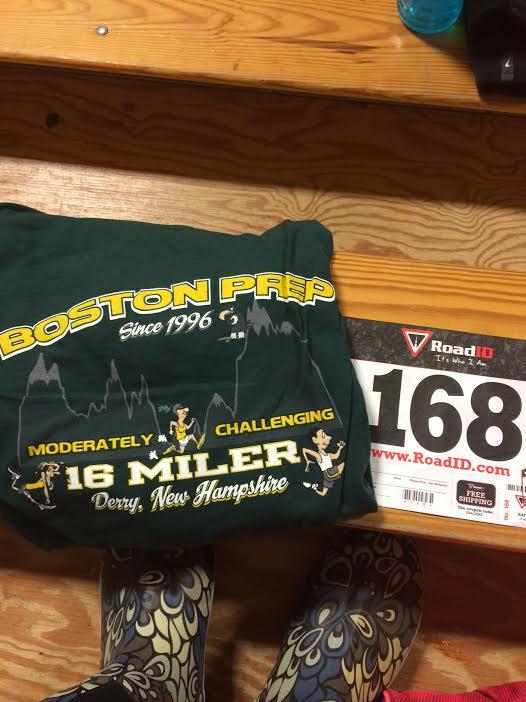 "Boston Prep 16 Miler–""Moderately Challenging"""