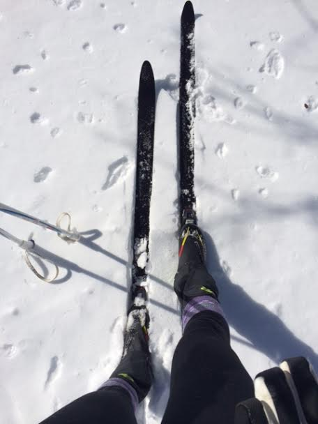 Cross Country Skiing is great cross training!