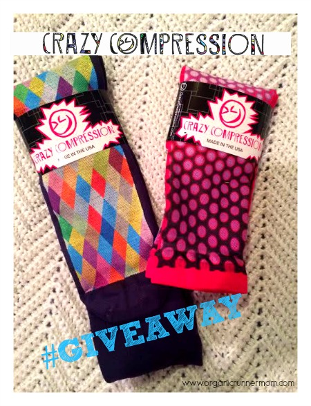 Crazy Compression Over the Calf Sock Giveaway