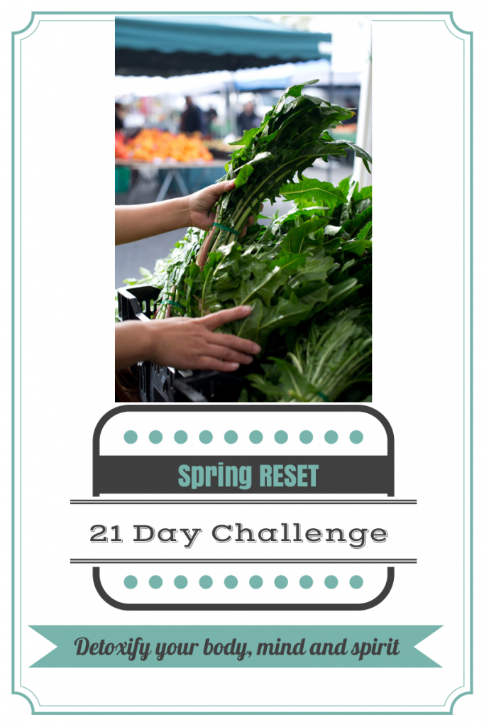 Spring Reset Challenge from Mommy, Run Fast