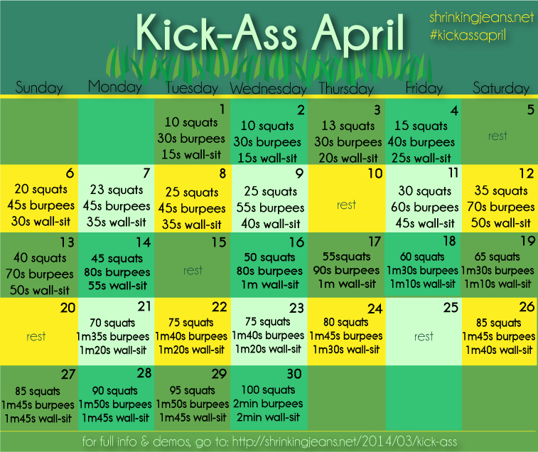 Kick-Ass April from Sisterhood of the Shrinking Jeans