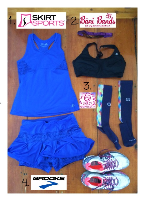 Boston Marathon Race Outfit 2014