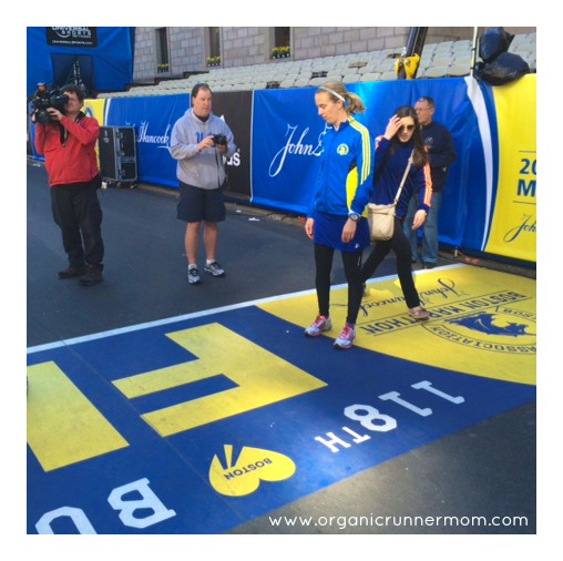 The Finish Line. Boston Marathon 2014.