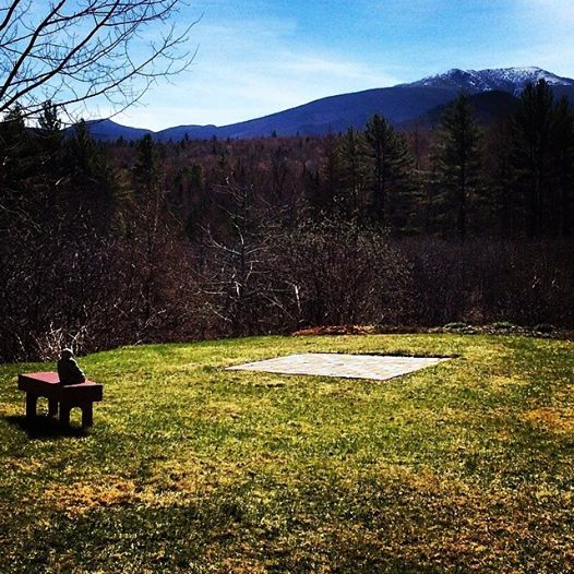 Peaceful run. Buddha in Franconia, NH. A perfect place to stop and meditate.