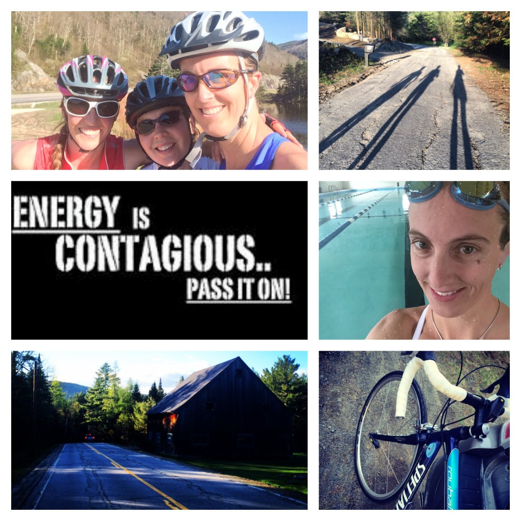 Energy is Contagious . . . Pass it on!