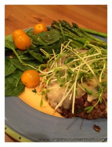 Lentil-Walnut Burgers from Molly Katzen's Moosewood Cookbook